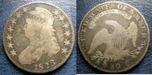 Us Coins - BUST 1/2 DOLLAR 1823 F-12