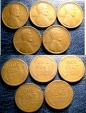 Us Coins - LINCOLN CENTS SEMI KEYS 1910-S, 1911-S, 1912-S, 1914-S, 1915-S VG/FINE