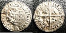 World Coins - Aachen  Doppel Sterling 1356-61 VF+ flan flaw