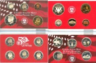 Us Coins - 2000 Silver Proof Set (10 pc.) w/box