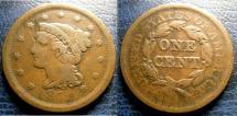 Us Coins - LARGE CENT 1852 FINE