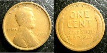 Us Coins - Lincoln Cent 1909  G-4