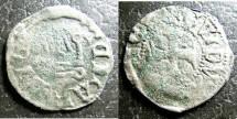 World Coins - Frankish Greece- Athens  Denier Tournois 1287-1308 Guy II, de la Roche F/VF Rare