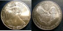 Us Coins - SILVER EAGLE 2003  BU/UNC; .999 SILVER, 1 OZ. ASW