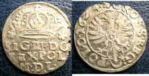 World Coins - POLAND/LITHUANIA AR GROSCHEN 1624 VF