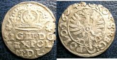 World Coins - POLAND/LITHUANIA AR GROSCHEN 1624 VF