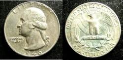 Us Coins - Washington Quarter 1946  AU-50