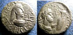 Ancient Coins - Bosporan Kingdom Rhescuporis V, 325-326 AD, AE20 Stater  Trident, VF