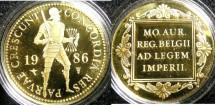 World Coins - Netherlands- Utrecht  Gold Ducat 1986 Proof, .983 Gold, w/certificate
