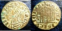 World Coins - SPAIN 1284-95 CORNADO SANCHO IV, SEVILLA AB#242 VF