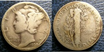 USA MERCURY DIME 1930 G-4