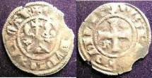 World Coins - France Royal 1285-1314 Double Tournois A.VF