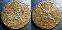 World Coins - SWEDEN AE ORE 1629 MDCXXIX, WINGS UP VF DETAILS, POROUS