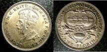 World Coins - Australia  Florin 1927-M Original Unc;