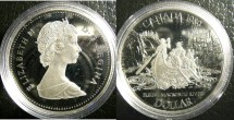 World Coins - Dollar 1989 MacKenzie River Proof 65