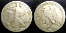 Us Coins - Walking Liberty 1/2 Dollar 1918 G-6