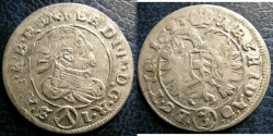 World Coins - AUSTRIA 3 KREUZER 1625(V)  F/VF VIENNA MINT