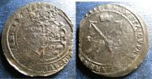 World Coins - SWEDEN AE ORE 1628 MDCXXVIII, KM#115 FINE, POROUS