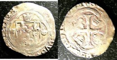 World Coins - France Royal  Blanc a' la Couronne 1515 F/VF