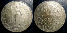 World Coins - ENGLAND TRADE DOLLAR 1911 KM-T5 EF