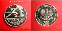 World Coins - Poland 200 Zlotych 1980 Pattern Proof