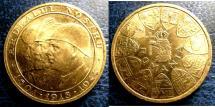 World Coins - ROMANIA 20 LEI GOLD 1944 K#XM13 PCGS MS-65