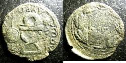 Ancient Coins - Bosporan Kingdom  AE25 (8.9 gr) Sauromates I, 93-124 AE AD 98-103/4 F/VF