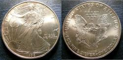 Us Coins - SILVER EAGLE 1998  BU/UNC; .999 SILVER, 1 OZ. ASW