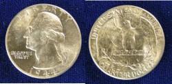 Us Coins - Washington Quarter 1944 MS-63
