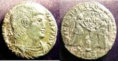 Ancient Coins - Roman Imperial 350-353 AD Magnentius Centenionalis VF+