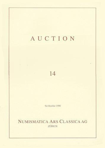 Ancient Coins - Auction Catalog - Numismatica ARS Classica Auction 14, October 1998
