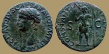 Ancient Coins - CLAUDIUS - AE As - CONSTANTIAE AVGVSTI - very nice coin