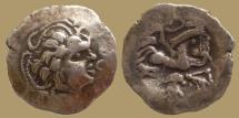 Ancient Coins - GAUL - Namnetes Trib - Base AV Stater a à l'hippophore - Scarce