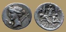 Ancient Coins - Julius Caesar - AR Denarius - Venus - Rare