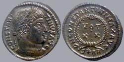 Ancient Coins - Constantine I - AE reduced follis - DN CONSTANTINI MAX AVG - Arles - RIC.252