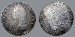 World Coins - FRANCE - Louis XV - Ecu aux branches d'olivier 1727 T - KM# 486.20