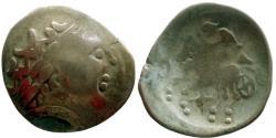 Ancient Coins - Celtic - Helvetii - EL Stater - a la croisette type - RARE