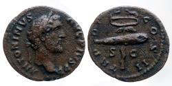 Ancient Coins - Antoninus Pius - AE Quadrans - TR POT COS II - RIC.573 - Rare