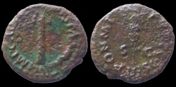Ancient Coins - Vespasian - AE Quadrans - Judea Capta Serie -