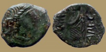 Ancient Coins - Celtic Gaul - Narbonnaise. Volcae Arecomici