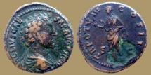 Ancient Coins - Marcus Aurelius as Caesar - AE As - Salus - RIC 1319 Scarce