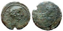 Ancient Coins - Octavian -  Æ Dupondius - Narbo -  Gaul - rare
