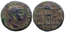 Ancient Coins - Nero - As - Macellum - Rare