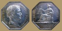 World Coins - FRANCE - AR Jeton - Commissaires Priseurs a Paris - Napoleon Bust - Bramsen 699