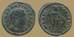 Ancient Coins - Constantine I - Half follis - MARTI CONSERV - Trier - RIC.897 - nice quality