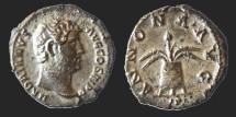 Ancient Coins - HADRIANUS - Denarius - ANNONA AVG - Modius