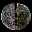 Ancient Coins - AVGVSTVS & AGRIPPA - Half Dupondius - NEMAUSUS