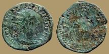 Ancient Coins - POSTUMUS - AE Double sestertius - VIRTVS AVG - overstruck