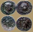 Ancient Coins - Lot of 2 Antoniniani - Gordian III and Philip