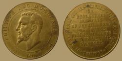 World Coins - France - Brass Jeton - Philippe d'Orleans - 1900 -
